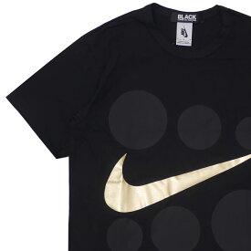 新品 ブラック コムデギャルソン BLACK COMME des GARCONS x ナイキ NIKE GOLD FOIL SIX DOT TEE Tシャツ BLACK ブラック 黒 メンズ 新作 200008172041