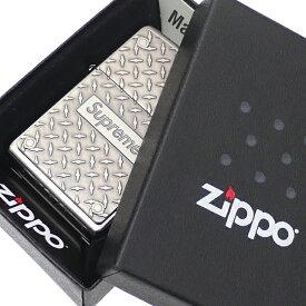 【14:00までのご注文で即日発送可能】 新品 シュプリーム SUPREME 19SS Diamond Plate Zippo ジッポ ライター METAL メタル メンズ レディース 2019SS 新作 290004974012