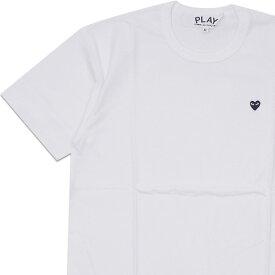 新品 プレイ コムデギャルソン PLAY COMME des GARCONS MENS SMALL BLACK HEART TEE Tシャツ WHITE ホワイト 白 メンズ