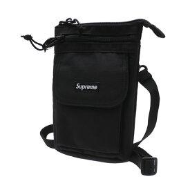 【14:00までのご注文で即日発送可能】 新品 シュプリーム SUPREME 19FW Shoulder Bag ショルダーバッグ BLACK ブラック 黒 メンズ レディース 2019FW 19AW 2019AW 新作