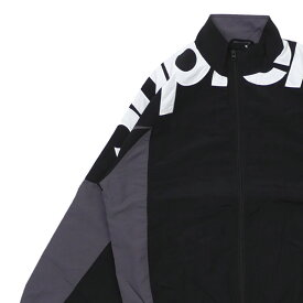 【14:00までのご注文で即日発送可能】 新品 シュプリーム SUPREME 19FW Shoulder Logo Track Jacket トラックジャケット BLACK ブラック 黒 メンズ 2019FW 19AW 2019AW 新作