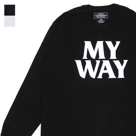 新品 ネイバーフッド NEIGHBORHOOD 19AW MY WAY/C-TEE.LS 長袖Tシャツ メンズ 2019AW 新作 192PCNH-LT12