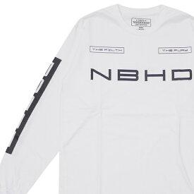 新品 ネイバーフッド NEIGHBORHOOD 19AW NH POSSE/C-TEE.LS 長袖Tシャツ WHITE ホワイト メンズ 2019AW 新作 192PCNH-LT04 202001103040