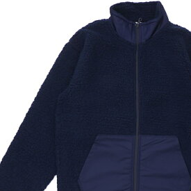 新品 ロンハーマン RHC Ron Herman x チャンピオン Champion Boa Fleece Jacket ボア フリース ジャケット NAVY ネイビー メンズ 新作