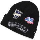 新品 シュプリーム SUPREME 19FW New Era Championship Beanie ニューエラ ビーニー BLACK ブラック 黒 メンズ レディ…