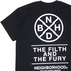 新品 ネイバーフッド NEIGHBORHOOD 19AW SOUVENIR/C-TEE.SS Tシャツ BLACK ブラック 黒 メンズ 2019AW 新作 192LBNH-STM01S