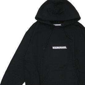 新品 ネイバーフッド NEIGHBORHOOD 19AW SOUVENIR/CE-HOODED.LS フーディー スウェット パーカー BLACK ブラック 黒 メンズ 2019AW 新作 192LBNH-CSM01S