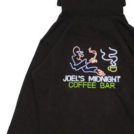新品 ロンハーマン Ron Herman JOEL'S MIDNIGHT COFFEE BAR Neon Logo Hoodie パーカー BLACK ブラック 黒 メンズ 新作