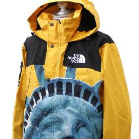 【14:00までのご注文で即日発送可能】 新品 シュプリーム SUPREME x ザ ノースフェイス THE NORTH FACE 19FW Statue of Liberty Mountain Jacket マウンテン ジャケット YELLOW イエロー メンズ 2019FW 19AW 2019AW 新作