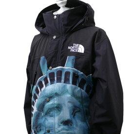 【14:00までのご注文で即日発送可能】 新品 シュプリーム SUPREME x ザ ノースフェイス THE NORTH FACE 19FW Statue of Liberty Mountain Jacket マウンテン ジャケット BLACK ブラック 黒 メンズ 2019FW 19AW 2019AW 新作