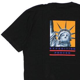 新品 シュプリーム SUPREME x ザ ノースフェイス THE NORTH FACE 19FW Statue of Liberty Tee Tシャツ BLACK ブラック 黒 メンズ 2019FW 19AW 2019AW 新作