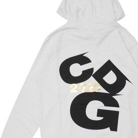 新品 コムデギャルソン CDG COMME des GARCONS 2020 LOGO Hoodie パーカー WHITE ホワイト 白 メンズ 新作