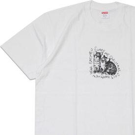 【14:00までのご注文で即日発送可能】 新品 シュプリーム SUPREME Eat Me Tee Tシャツ WHITE ホワイト 白 メンズ 新作