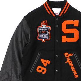 新品 シュプリーム SUPREME 19FW Team Varsity Jacket ジャケット BLACK ブラック 黒 メンズ 2019FW 19AW 2019AW 新作