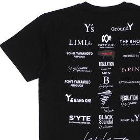 【14:00までのご注文で即日発送可能】 新品 ヨウジヤマモト Yohji Yamamoto x ニューエラ NEW ERA S/S Cotton Tee Tシャツ BLACK ブラック 黒 メンズ 新作