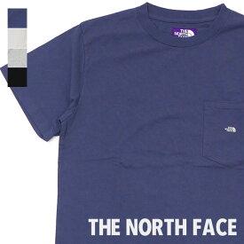 新品 ザ・ノースフェイス パープルレーベル THE NORTH FACE PURPLE LABEL 7oz H/S POCKET TEE ポケット Tシャツ 新作 NT3962N