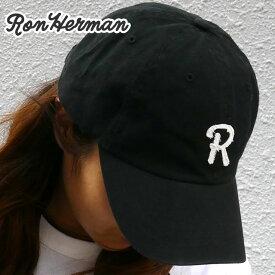 新品 ロンハーマン RHC Ron Herman R CAP キャップ BLACK ブラック メンズ レディース 新作