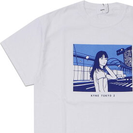 新品 ソフネット SOPHNET. KYNE TOKYO 2 TEE キネ Tシャツ WHITE ホワイト 白 メンズ 新作