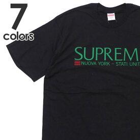 新品 シュプリーム SUPREME 20FW Nuova York Tee Tシャツ メンズ 2020FW 2020AW 20AW 新作