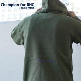 【14:00までのご注文で即日発送可能】 【販売数激少!!】 新品 ロンハーマン RHC Ron Herman x チャンピオン Champion KHAKI カーキ I have a dream Reverse weave Hoodie リバースウィーブ フーディー スウェット パーカー メンズ 新作