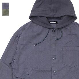 新品 ネイバーフッド NEIGHBORHOOD 20AW HOODED/C-SHIRT.LS シャツジャケット パーカー メンズ 2020AW 新作 202AQNH-SHM04