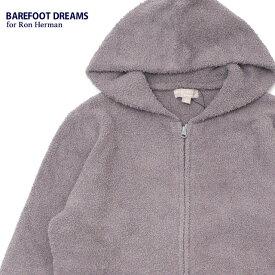 新品 ベアフットドリームス ロンハーマン BAREFOOT DREAMS for Ron Herman COZYCHIC 3.5YARN Solid Hoodie パーカー WARM GRAY メンズ レディース 新作