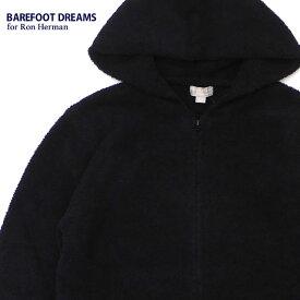 新品 ベアフットドリームス ロンハーマン BAREFOOT DREAMS for Ron Herman COZYCHIC 3.5YARN Solid Hoodie パーカー BLACK メンズ レディース 新作