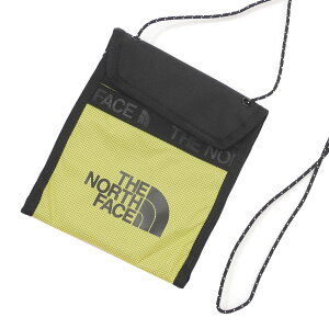 【2021年3月度 月間優良ショップ受賞】 新品 ザ・ノースフェイス THE NORTH FACE Bozer Neck Pouch ネックポーチ SULFUR GREEN サルファーグリーン メンズ レディース 新作 39ショップ