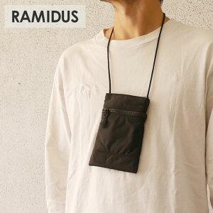 【2021年3月度 月間優良ショップ受賞】 新品 ラミダス RAMIDUS BLACK BEAUTY NECK POUCH ブラックビューティー ネックポーチ BLACK ブラック メンズ レディース 新作 39ショップ