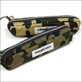 A BATHING APE (APE) 1 st CAMO pencil case