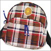 A BATHING APE (APE) backpack RED CHECK