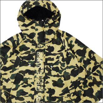 c6367e63115d6 エイプ A BATHING APE GORETEX 1st CAMO snowboarding jacket YELLOW  CAMO225000087058