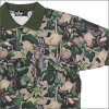 A BATHING APE (APE) VILLAGE CAMO short sleeve polo shirt [villagecamo] GREEN CAMO 218-000190-045 [1760-112-002]-