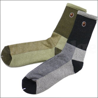 A BATHING APE (APE) TUBE SOCKS 290-001242-052-