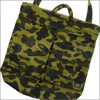 A BATHING APE(에이프) x PORTER(포터) 1 st CAMO HELMET BAG [헬멧 가방] 1 st CAMO 275-000074-015+