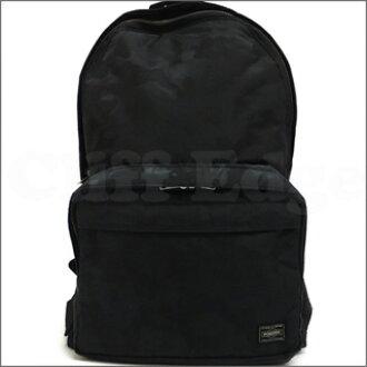 A BATHING APE (APE) 276-000129-011 CAMO CAMO DAYBAG BLACK JACQUARD x PORTER (Porter) +