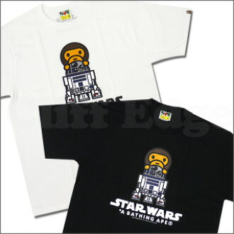29e9825b A BATHING APE (APE) x STAR WARS (Star Wars) R2-D2 ON MILO T shirt  200-004201-040-