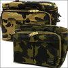 沐浴猿 (猿) 277-001564-015 波特 (Porter) 打印 x 1 迷彩相机袋 L [相机包] [6873-182-204]-
