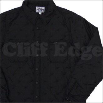 A BATHING APE(eipu)STA QUILT工作长袖子衬衫BLACK 216-000713-041[1860-140-014]-