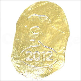 A BATHING APE(eipu)新奇压缩毛巾GOLD 290-001800-018+