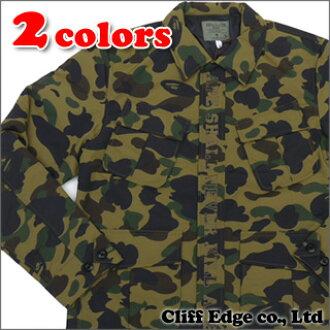 65b647a32 Cliff Edge: A BATHING APE 1ST CAMO ARMY JUNGLE FATIGUE SH 216-000922 ...
