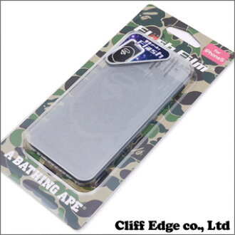 A BATHING APE BAPE iPhone5 FLASH FILM (Flash film) CLEAR 290-0027660-10-