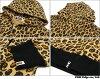 沐浴猿 BAPE 豹充分邮编帽衫 (大衣) 212-000828-051 (1070年-115-029)-