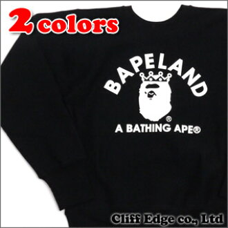BAPELAND EXCLUSIVE A BATHING APE CHAMPION BAPELAND CREW NECK (クルーネックスウェット) 209 - 000306 - 041x