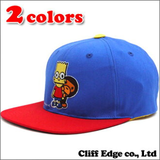 A BATHING APE x THE SIMPSONS MILO THE SIMPSONS SNAP BACK CAP(突然弹回盖子)250-000250-011(2A23-180-924)-