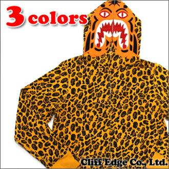 沐浴猿 (猿) 老虎豹子全拉链帽衫 (老虎帕克饰) 212-000914-043 (1A80-115-018)-
