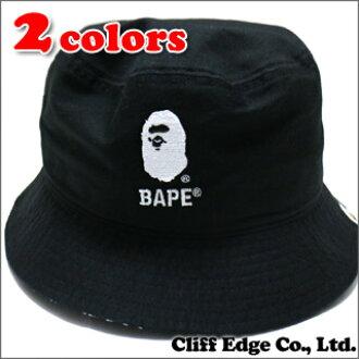 A BATHING APE (エイプ) BUCKET HAT (버킷 햇) 252-000281-041 (1A80-180-007)- 9544df7bfae