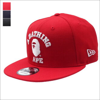 b62733399bf Cliff Edge  A BATHING APE COLLEGE NEW ERA SNAP BACK CAP 1D30-180-004 ...