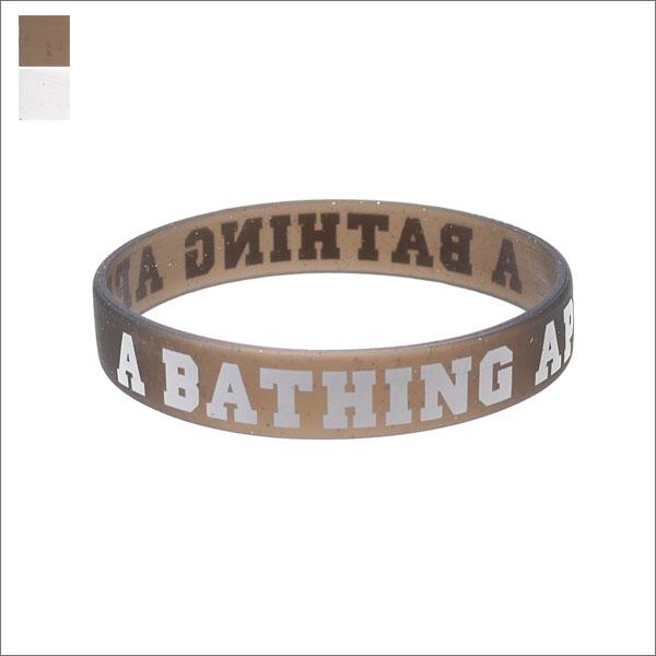 A BATHING APE (エイプ) GULITTER RUBBER BRACELET (ブレスレット) 1D80-182-053 269-000330-010+【新品】