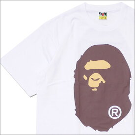 エイプ A BATHING APE BIG APE HEAD TEE Tシャツ WHITE 1E30110004 200007193060 【新品】